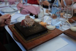 You were given a raw steak, a searing-hot stone and you could prepare it however you like.