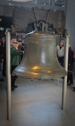 Liberty Bell - wish I could lick it (anyone got the reference?)