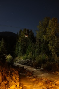 Tried some night photography, but I was afraid of stumbling upon a bear so I did not venture too far...