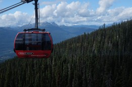 Couldn't miss another ride on the Peak 2 Peak gondola!