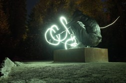 Couldn't help myself with some lightpainting myself.